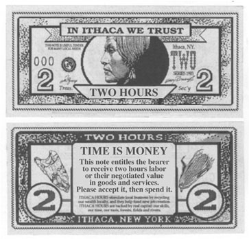 Accept ithaca dollars