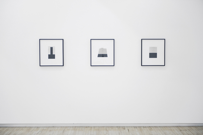 Sophie Jodoin, untitled (high-rise), untitled (fortress), untitled (pillar), 2011, Battat Contemporary, Montréal