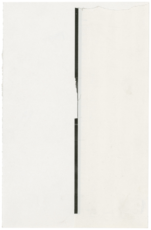 Sophie Jodoin, untitled abstract 11, 2013, coupures de livres / book cut-outs, 19.5 x 13 cm / 7 11/16